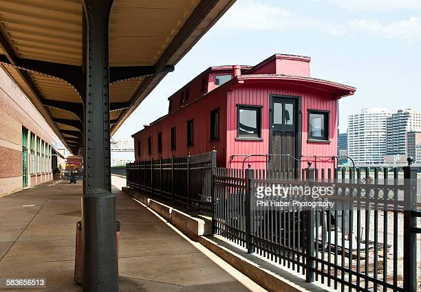 Old red caboose, Pittsburgh
