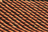 old red tiled roof