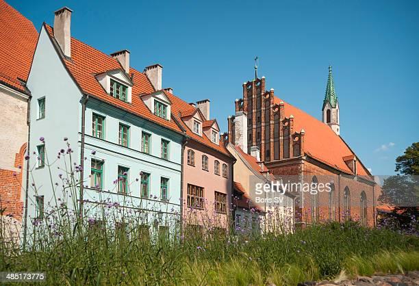 Old Riga in spring