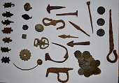old, roman, finds, private collection