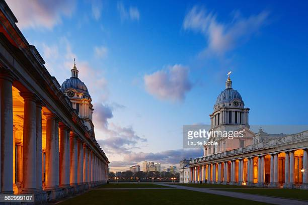 Old Royal Naval College & Canary Wharf, Greenwich