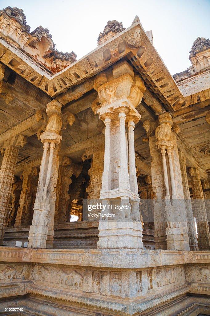 Old ruins of Hampi, Karnataka, India : Foto de stock