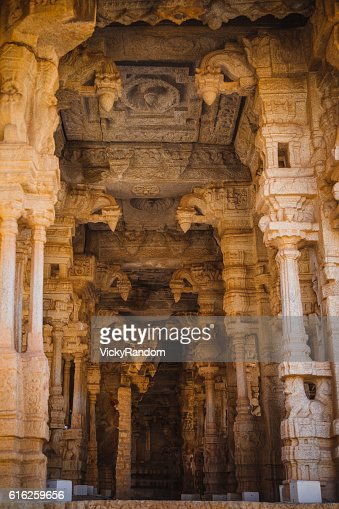 Old ruins of Hampi, Karnataka, India : Foto de stock