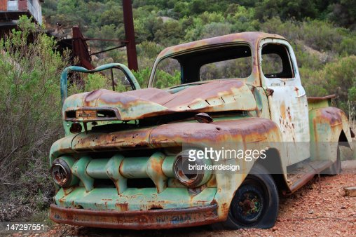 Old Rusted Truck : Stock Photo