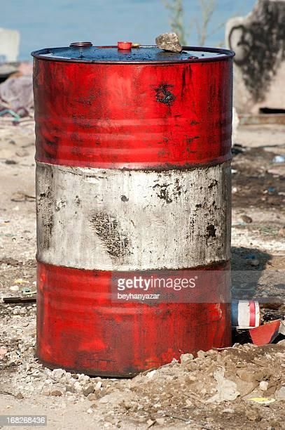 Alte rostige barrel