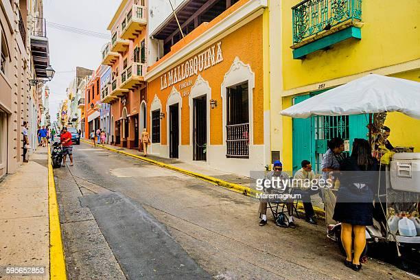 Old San Juan, a street