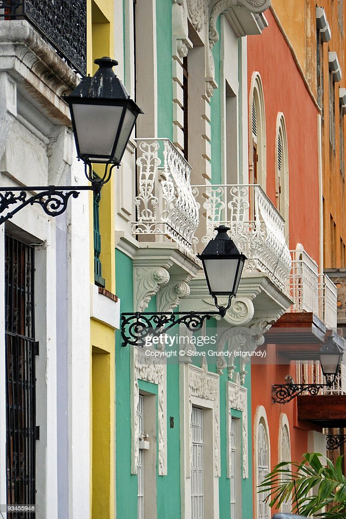 Old San Juan Colors