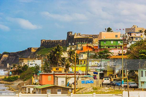 Old San Juan, view of La Perla district