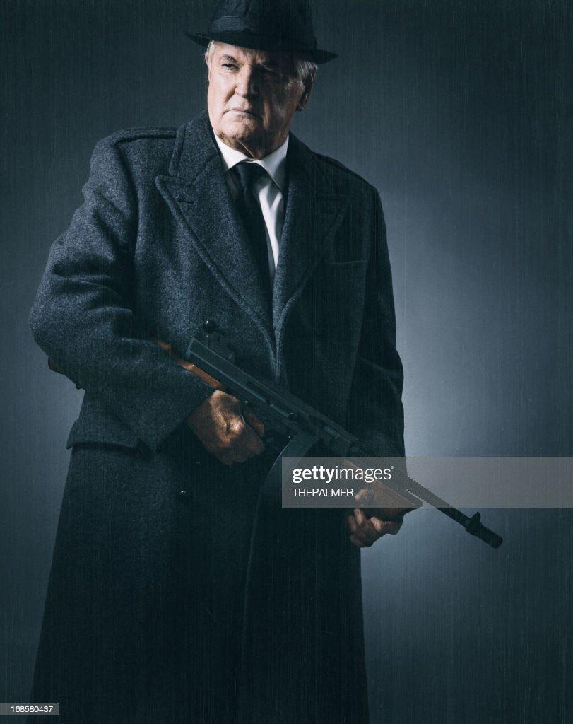 old school mobster