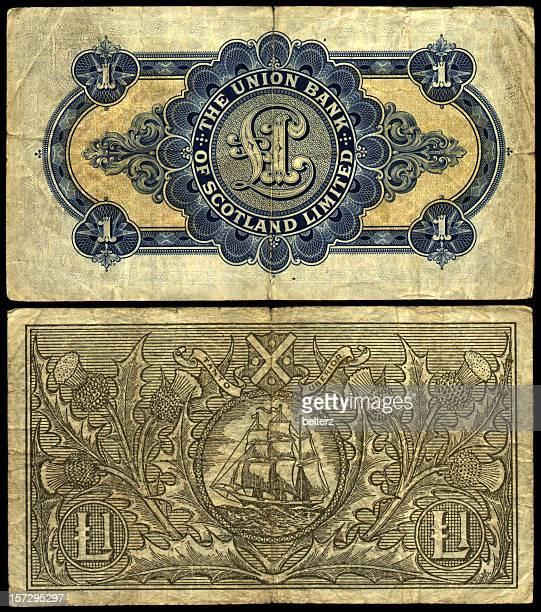old scottish notes