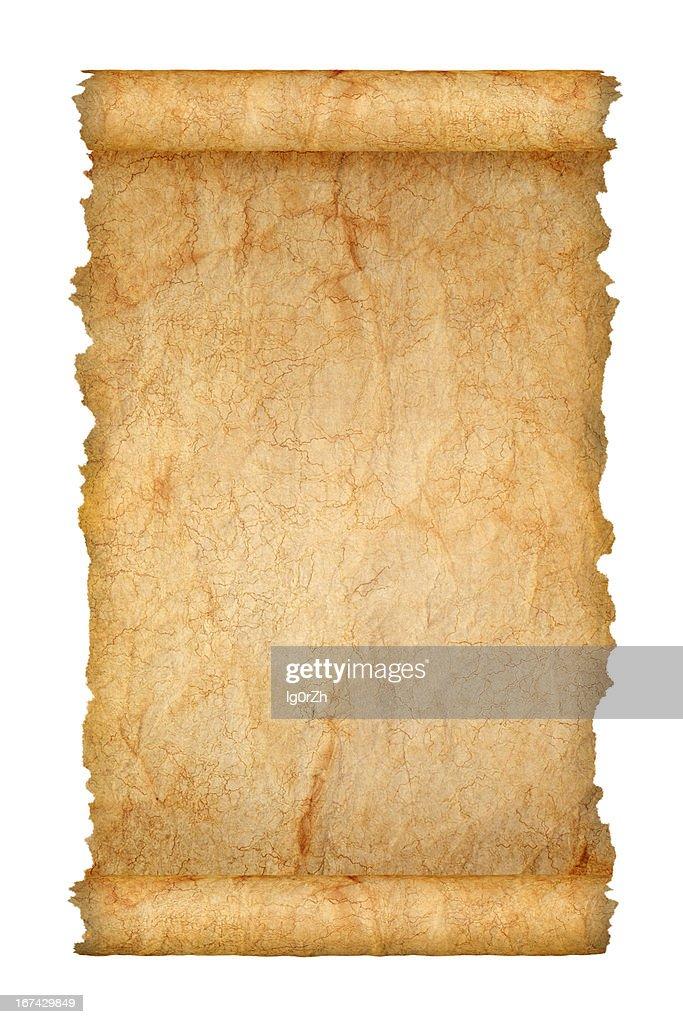 Antigo Rolo de Papel : Foto de stock