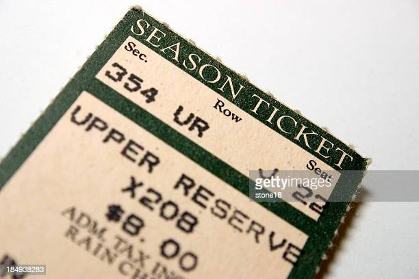 Old season ticket