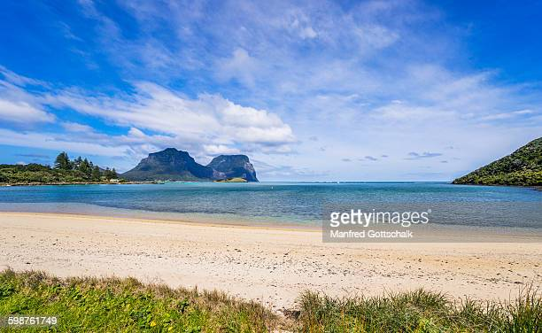 Old Settlement Beach Lord Howe Island