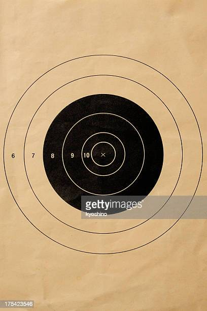 Old shooting target background