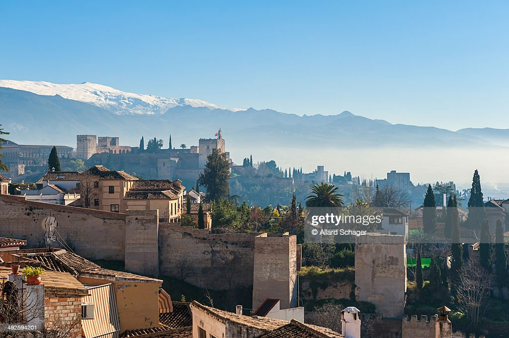 Old Skyline of Granada Spain
