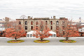 Old Smallpox Hospital on Roosevelt Island in New York City