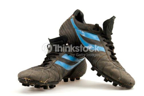 Scarpe Calcio Vecchie Foto Stock Da fqWwYdF