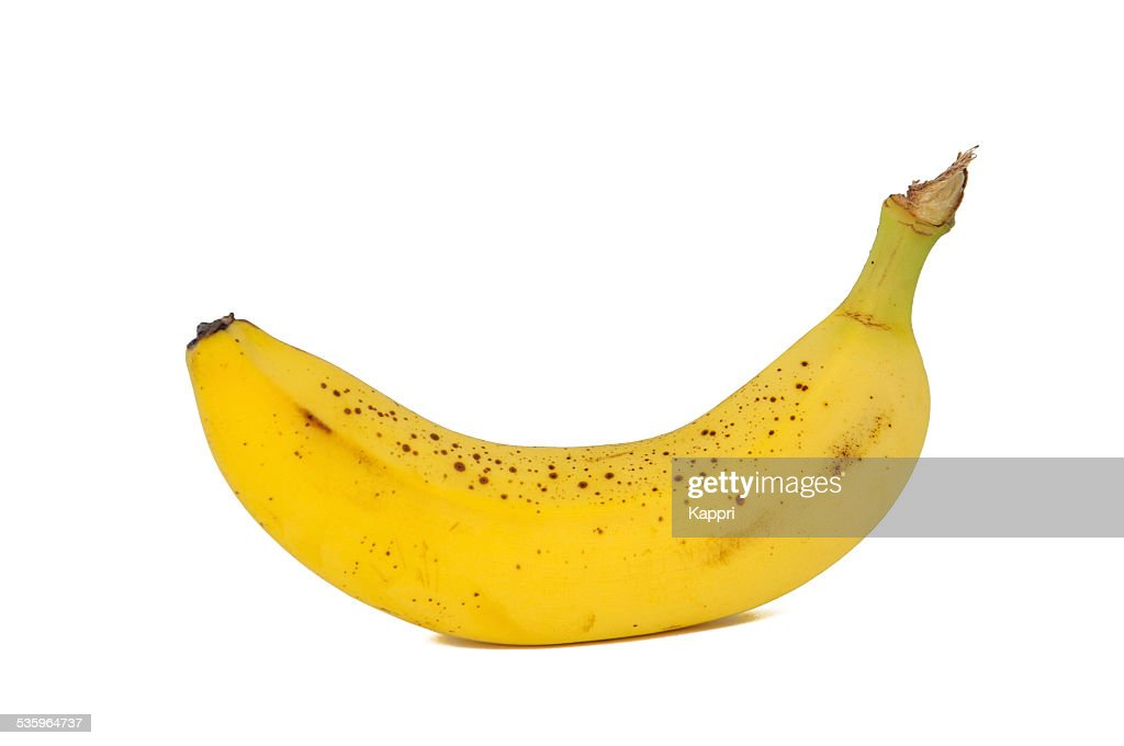 Old speckled banana : Stock Photo