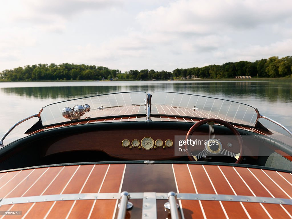 Old Speed Boat