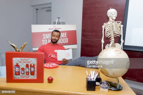 Old Spice Guy and 'Shadowhunters' star Isaiah Mustafa launches School of Swagger event at Andaz on August 10 2017 in West Hollywood California