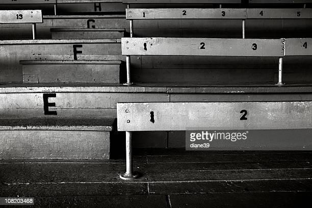old stadium bleachers