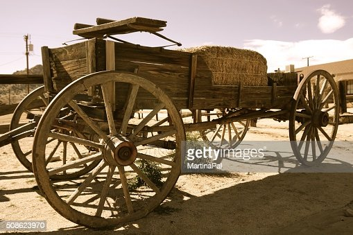Old Stagecoach : Stock Photo