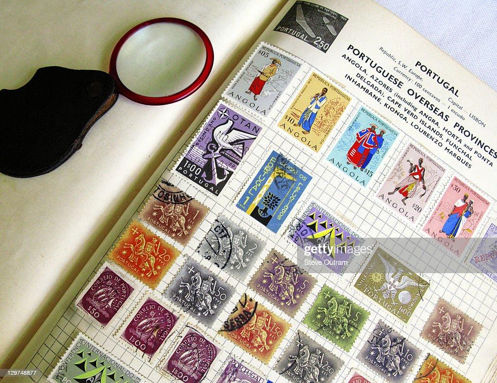 Old Stamp Album