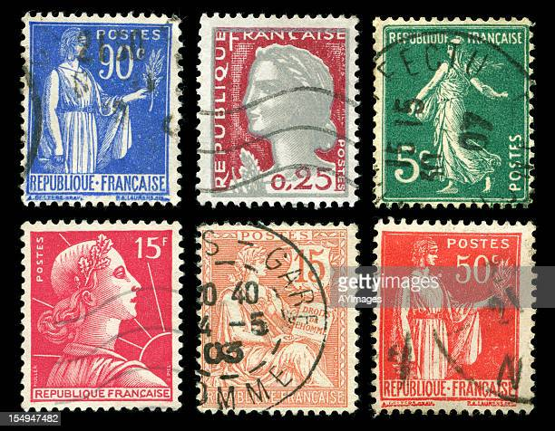 Old timbres de France