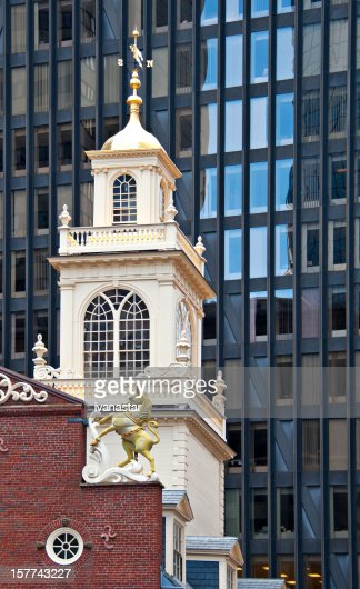 Old State House Tower, Boston