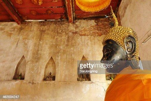 Old Statue Buddhist : Stock Photo