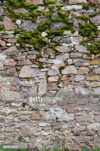 Vecchio Muro di pietra : Foto stock