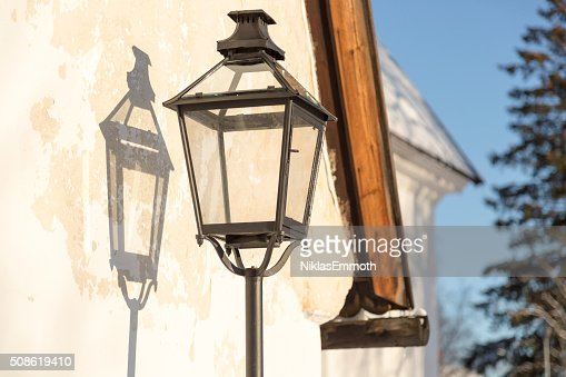Old Street Light : Stock Photo