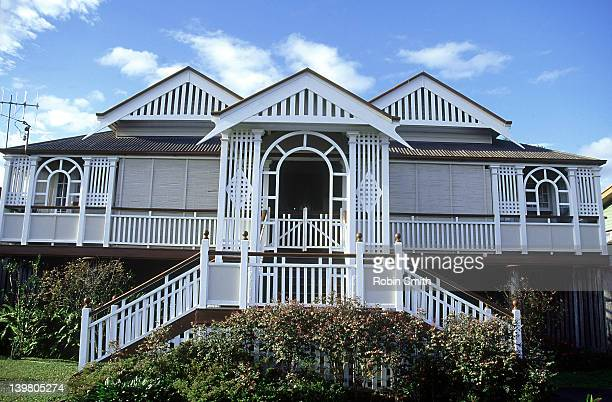 Old style 'Queenslander' house, Maryborough, QLD