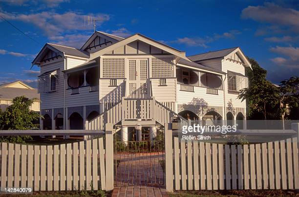 Old Style 'Queenslander' House, Maryborough, Queensland, Australia