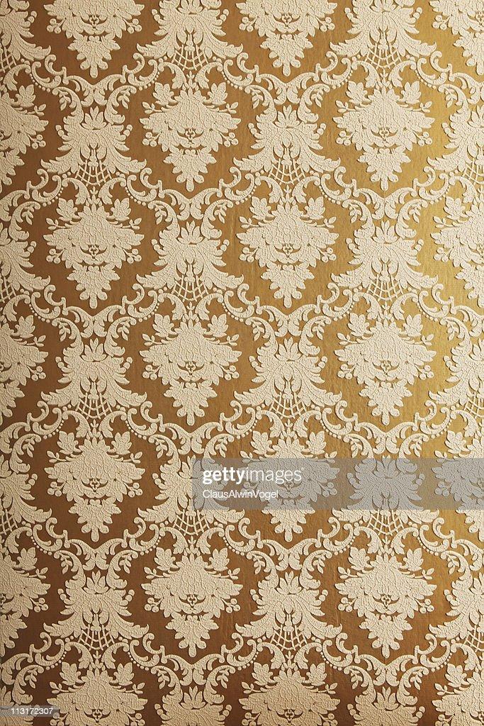 papel pintado de estilo antiguo con la estructura foto de stock