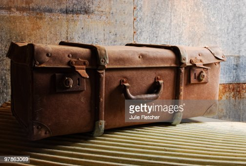Old Suitcase Gwalia : Stock-Foto