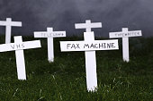 Graveyard for technology.  Concept for obsolete technology