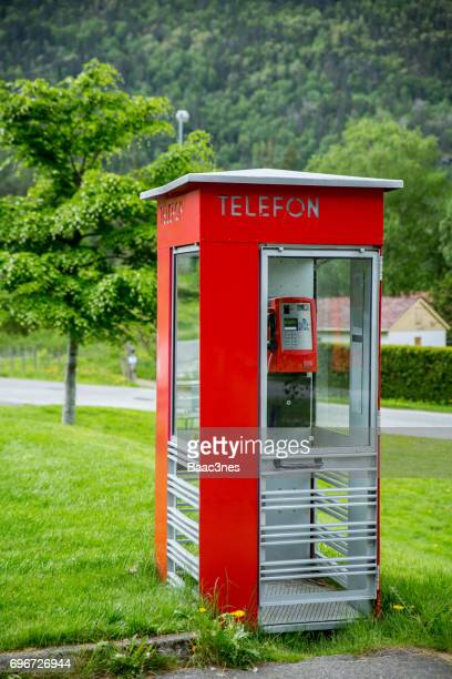 Old Telephone Box - Norway