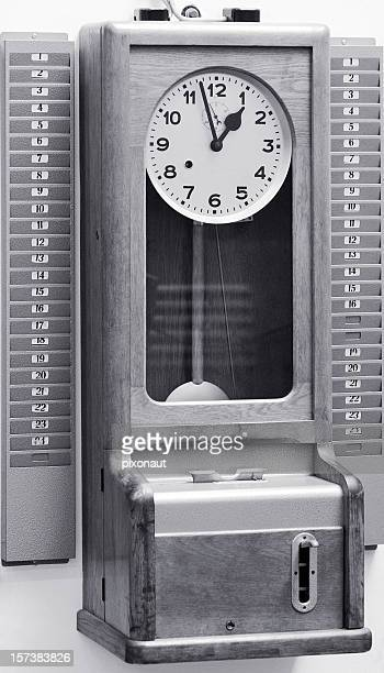 Antigo Relógio de Ponto