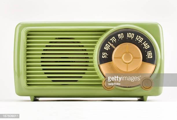 Vieux temps vert Radio-adobe RVB