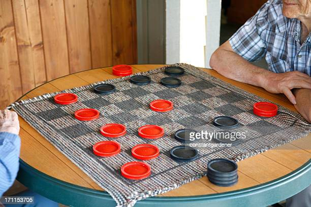 Old Time Senior Checkers