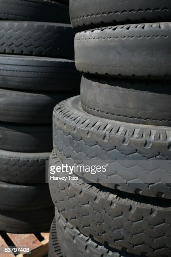 Old Tires : Stock Photo