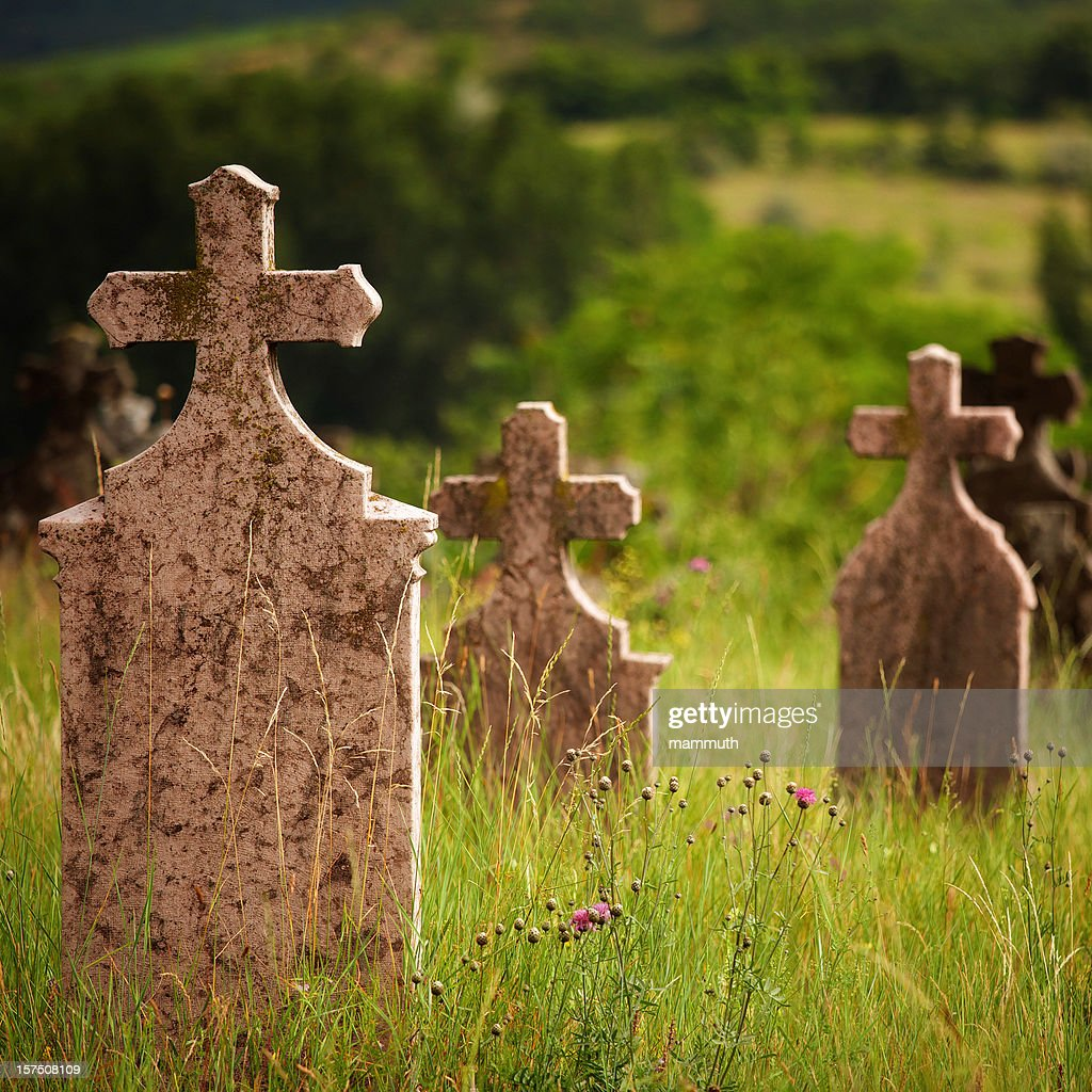old tombstones : Stockfoto