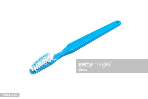 old toothbrush : Stock Photo