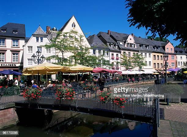 Old town at Buttermarkt, Saarburg, Saar Valley, Rheinland-Pfalz, Germany, Europe