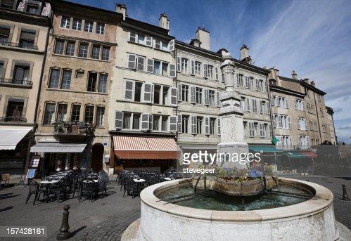 ジュネーブの旧市街