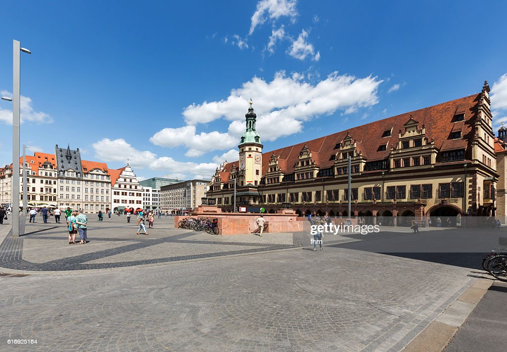 Old Town Hall in Leipzig (Saxony, Germany) : Stock Photo