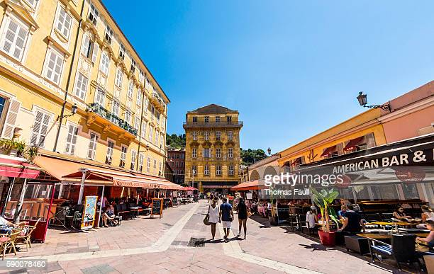 Old Town in Nice, France