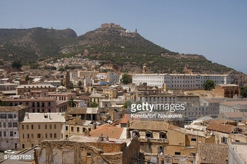 Old town in Oran, Algeria : Stock Photo
