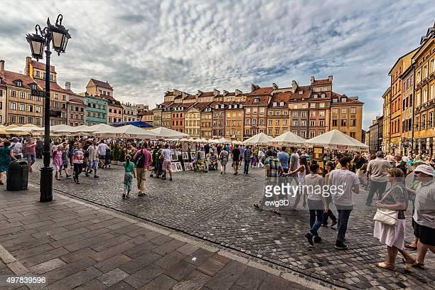 Old Town Market, Warsaw